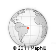 Outline Map of S.J.Lagoa Tapada