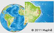 Physical Location Map of Salgado S.Felix