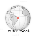 Outline Map of Santana De M.