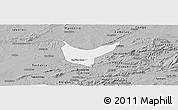Gray Panoramic Map of Sao Sebastiao U.