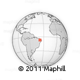 Outline Map of Souza