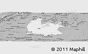 Gray Panoramic Map of Souza