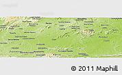 Physical Panoramic Map of Souza