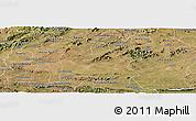 Satellite Panoramic Map of Souza