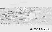 Silver Style Panoramic Map of Taperoa