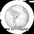 Outline Map of Alm Tamandare