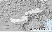 Gray 3D Map of Campina Grande d