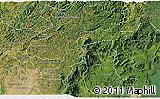 Satellite 3D Map of Campina Grande d