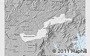 Gray Map of Campina Grande d