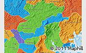 Political Map of Campina Grande d