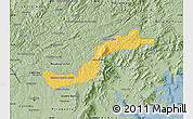 Savanna Style Map of Campina Grande d