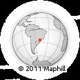 Outline Map of Campina Grande D