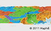 Political Panoramic Map of Campina Grande d