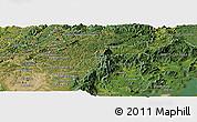 Satellite Panoramic Map of Campina Grande d