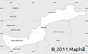 Silver Style Simple Map of Campina Grande d
