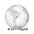 Outline Map of Campo