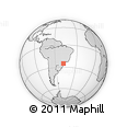 Outline Map of Guaraquecaba