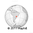 Outline Map of Parana