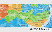 Political Shades 3D Map of Pernambuco