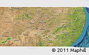 Satellite 3D Map of Pernambuco