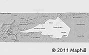 Gray Panoramic Map of Afranio
