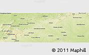 Physical Panoramic Map of Afranio