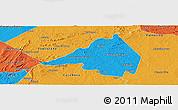 Political Panoramic Map of Afranio
