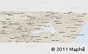 Classic Style Panoramic Map of Agua Preta