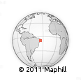 Outline Map of Amaraji