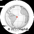 Outline Map of Belem De Maria