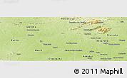 Physical Panoramic Map of Belem de Sao Fco