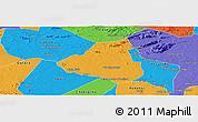 Political Panoramic Map of Belem de Sao Fco