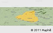 Savanna Style Panoramic Map of Belem de Sao Fco