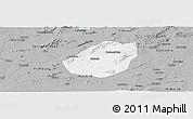 Gray Panoramic Map of Betania