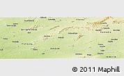 Physical Panoramic Map of Betania