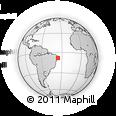 Outline Map of Bezerros