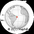 Outline Map of Brejo Da Madre D