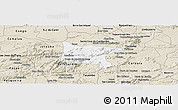Classic Style Panoramic Map of Brejo da Madre D