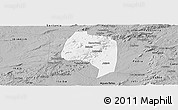 Gray Panoramic Map of Buique