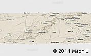 Shaded Relief Panoramic Map of Buique
