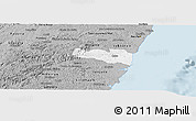 Gray Panoramic Map of Cabo