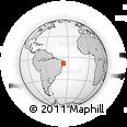 Outline Map of Cachoerinha