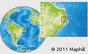 Physical Location Map of Carpina