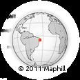 Outline Map of Ibirajuba