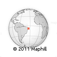 Outline Map of Igaracu