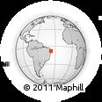 Outline Map of Iguaraci