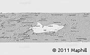 Gray Panoramic Map of Iguaraci