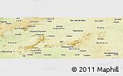 Physical Panoramic Map of Iguaraci