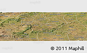 Satellite Panoramic Map of Iguaraci