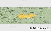 Savanna Style Panoramic Map of Iguaraci